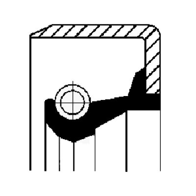 Retentor do Cubo de Roda Dianteiro SCANIA - AM 55 | AM 60 - SERIE 1 | 2 | 3