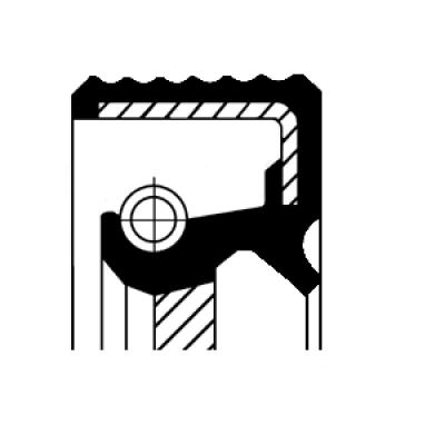Retentor do Comando de Válvulas do Motor RENAULT - MASTER - 2.5L - 16V
