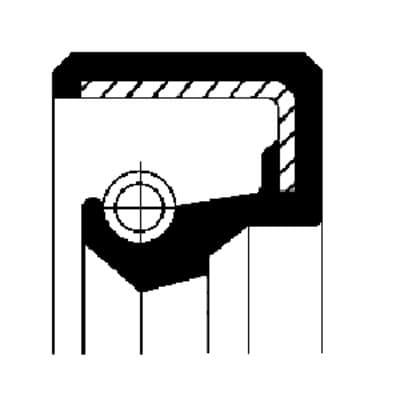 370076 Retentor do  Cubo de Roda  Traseiro  SCANIA  - SERIE 2 | 3