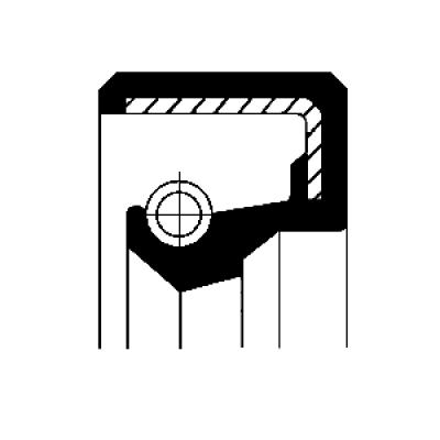 Retentor  do  Pinhão  MERCEDES BENZ  HL1 / HL2 / HL 2/17 | 45 | 54